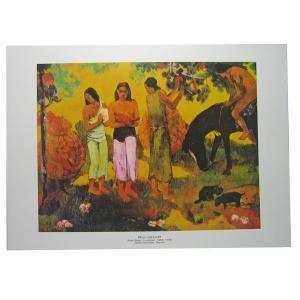 セール品 ポールゴーギャンポスター(PAUL GAUGUM) Rupe Rupe|tahiti-surf