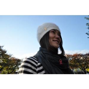 リボンピンバッジ ピンクリボン 乳がん 患者とその家族への理解と 支援 日本対がん協会 バッチ ブローチ 乳がん 乳癌 メール便で 送料無料 ラペルピン|tahiti-surf|03