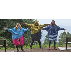 PORD レディース レインポンチョ 女性向 自転車 レインコート 耐水 雨合羽 アウトドア キャンプ 登山 レイングッズ 梅雨 女性用 カッパ かっぱ |tahiti-surf|21