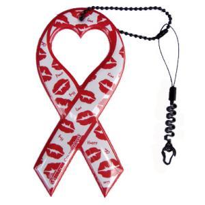 セール!小売価格1050円 リボンドネーションチャーム Ribbon Donation Charm キスキスキッス 100円寄付商品 メール便で送料無料|tahiti-surf