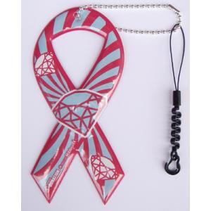 セール!小売価格1050円 リボンドネーションチャーム Ribbon Donation Charm ルパン 100円寄付商品 メール便で送料無料|tahiti-surf