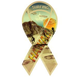 ハワイキリボンマグネット Hawaiki Ribbon Magnet ザヘッド surfing HAWAII ハワイアンブランド 売上の一部が寄付 メール便で送料無料|tahiti-surf