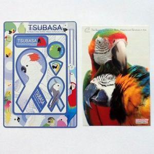 リボンフォトフレーム バードレスキュー社団法人TSUBASA バード 鳥 インコ フィンチ オウム メール便で送料無料|tahiti-surf