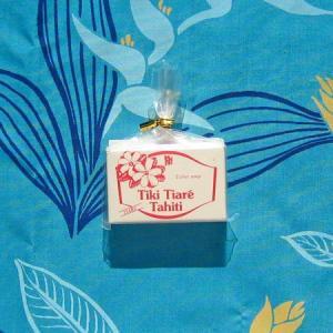 MONOI TIARE TAHITI タヒチ産 タヒチモノイティアレ石鹸15g(ティアレ) モノイオイル使用 100%植物成分 原産国タヒチ島|tahiti-surf