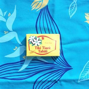 MONOI TIARE TAHITI タヒチ産 タヒチモノイティアレ石鹸18g(ティアレ) モノイオイル使用 100%植物成分 原産国タヒチ島|tahiti-surf