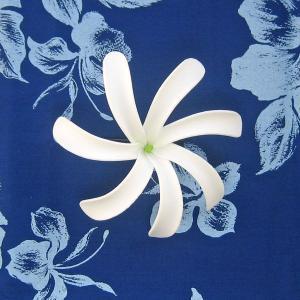 ヘアアクサセリー ティアレクリップ Lサイズ 髪留め タヒチアンダンス フラダンス 造花 TIARE フラガール|tahiti-surf
