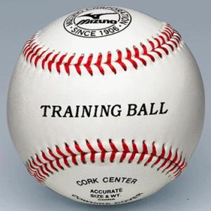 【MIZUNO】ミズノ 硬式トレーニングボール ティーバッティング用 1bjbh80000|tai-spo