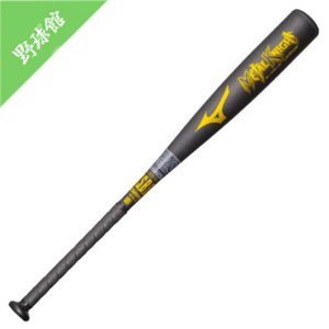 【MIZUNO】ミズノ 少年軟式用金属製バット メタルナイト ブラック 78cm 1cjmy12578|tai-spo