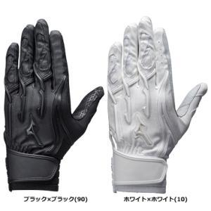【MIZUNO】ミズノ 両手用打撃用手袋 シリコンパワーアークMI 高校野球ルール対応モデル 1ejeh131|tai-spo