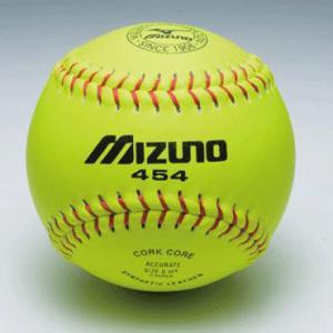 ★ 【MIZUNO】ミズノ 合成皮革ソフトボール用練習球 1ダース 2os45400|tai-spo