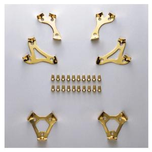 【MIZUNO】ミズノ グリッター新9本歯金具セット ボルト止め式 2zk15400 tai-spo