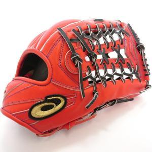 【asics】アシックス 野球館オリジナル 硬式グローブ ゴールドステージ外野手用 オーダーグラブ asics-38 tai-spo