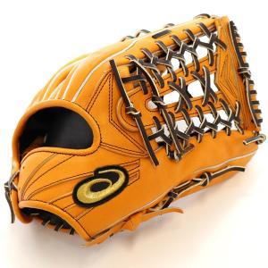 【asics】アシックス 野球館オリジナル 硬式グローブ ゴールドステージ外野手用 オーダーグラブ asics-94|tai-spo