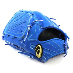 高校野球ルールに対応していない青のグローブです。 ボーイズリーグ、大学、社会人野球対応です。  カタ...