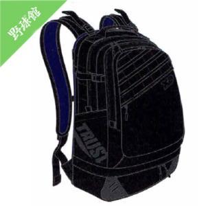 【Xanax】ザナックス 2ルームバックパック トラストシリーズ BLACK LINE ブラック ba-g807|tai-spo