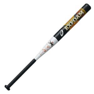 【asics】アシックス ソフトボール用金属製バット エクスフォーム 3号ゴムボール対応 bb5300-2101 tai-spo