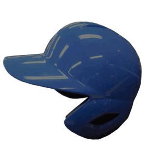 【ZETT】ゼット 一般軟式用打者用ヘルメット 両耳付き つや消し マットオーシャンブルー(受注生産) bhl371-2301|tai-spo