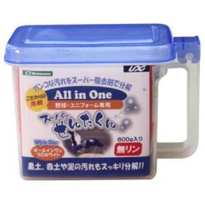 【UNIX】ユニックス 野球・ユニフォーム専用洗剤 スーパーせんたくん 600g bx84-41|tai-spo