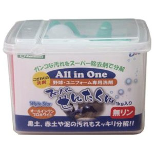 【UNIX】ユニックス 野球・ユニフォーム専用洗剤 スーパーせんたくん 1kg bx84-43|tai-spo