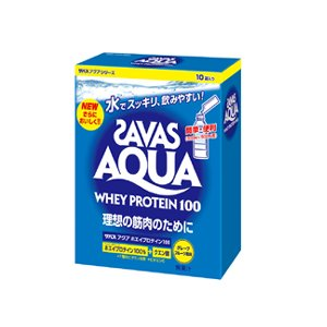 ★【ZAVAS】ザバス アクア ホエイプロテイン100 グレープフルーツ味 210g ca1302|tai-spo