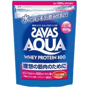 ★ 【ZAVAS】ザバス アクアホエイプロテイン100 1890g アセロラ風味 ca1339 |tai-spo