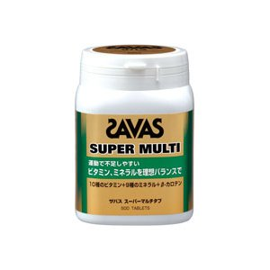 ★【ZAVAS】ザバス スーパーマルチタブ 150g/標準500粒入り cj3474|tai-spo