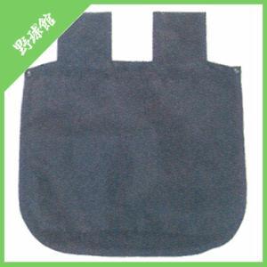 雨天OK!  防撥水加工素材使用の、ウエストボールバッグ。  【表裏段違いの間口でボールの出し入れス...