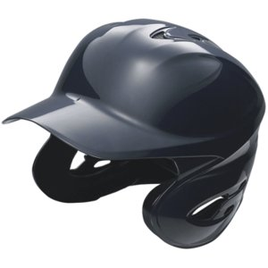 ★ 【SSK】エスエスケイ 軟式少年用両耳付きヘルメット ネイビー h1000j-70|tai-spo