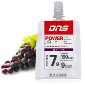 ★ 【DNS】 DNSパワーゼリー 1カートン(6個入り) グレープ風味 dns power jelly grape|tai-spo