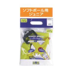 【SURE PLAY】シュアプレイ 19-19 プロジェクトシリーズ ダイヤモンドメジャー ソフトボール用ジュニア sbz-606j|tai-spo