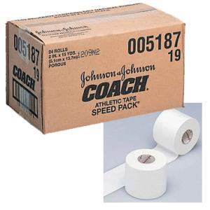 ★ 【asics】アシックス Johnson&Johnson非伸縮テープ5.1cmヒザ・腰用 24本入り(チームユース) tj5187 tai-spo