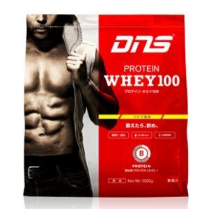 ★ 【DNS】 プロテインホエイ100 1000g バナナ風味 why100-1000g-banana|tai-spo