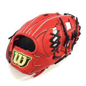 【wilson】ウィルソン 野球館オリジナル 硬式グローブ DUAL 内野手用 オーダーグラブ デュアル wilson-1|tai-spo