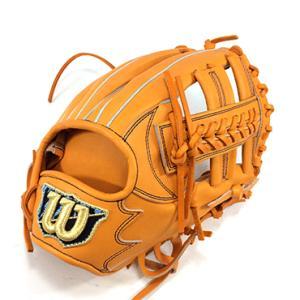 【wilson】ウィルソン 野球館オリジナル 硬式グローブ 内野手用 オーダーグラブ wilson-14|tai-spo
