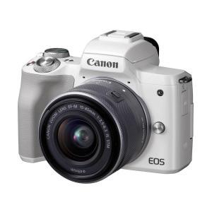 【新品】 キャノン CANON EOS Kiss M EF-M15-45 IS STM レンズキット...