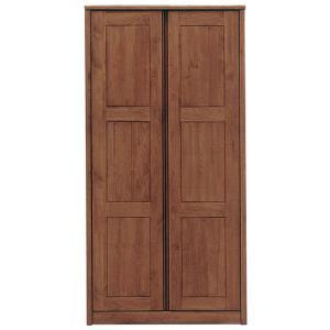 ワードローブ クローゼット 服吊 90幅 クローク ロッカータンス アルダー 開き戸 観音開き 開扉...