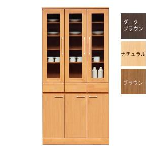 食器棚 幅90cm 完成品 北欧 キッチン収納 taiho-kagu
