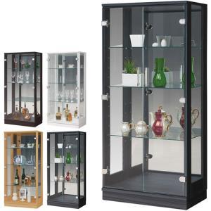 コレクションケース ショーケース フィギュアケース 幅60cm ミドルタイプ コレクションボード 収納 ガラスケース|taiho-kagu