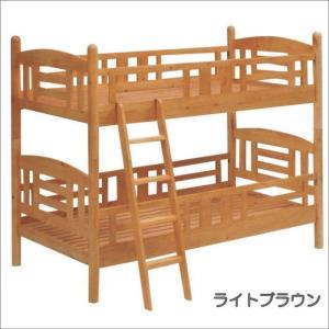 2段ベッド 二段ベッド 子供用ベッド コンチェルト(ライトブラウン) taiho-kagu