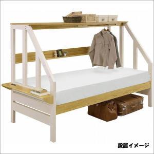 システムベッド 木製 コンセント付き 子供用 カンヌ|taiho-kagu