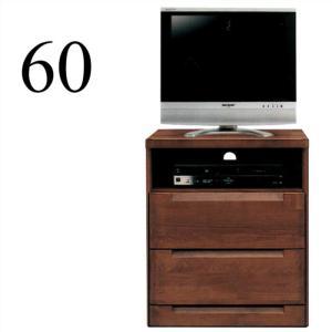 テレビ台 リビング収納 完成品 幅60cm テレビボード アルダー無垢 木製 北欧 taiho-kagu