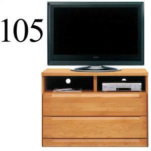 テレビ台 テレビチェスト 幅105cm コンパクト 一人暮らし ウッド 木製 北欧 ミドルタイプ 安い taiho-kagu