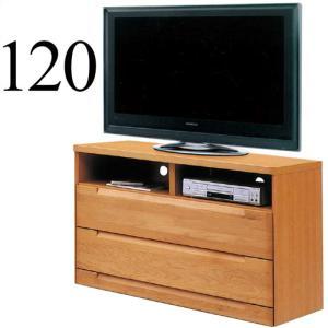 テレビ台 テレビボード 幅120cm 完成品 木製 アルダー無垢 リビング収納 国産 ミドルタイプ taiho-kagu