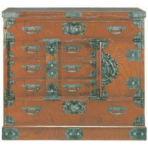 筑後民芸 民芸箪笥 和たんす 和風 幅90cm 銭形箪笥 欅突板