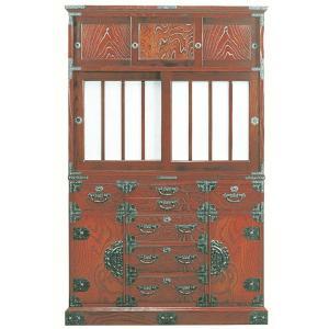 筑後民芸 幅112cm 水屋 時代|taiho-kagu