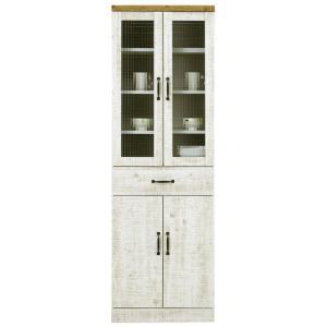 食器棚 幅60cm 完成品 ダイニングボード キッチン収納 おしゃれ|taiho-kagu