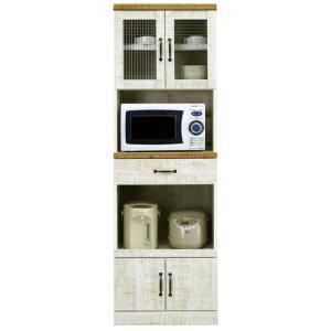 食器棚 レンジ台 幅60cm 完成品 レンジボード キッチン収納 おしゃれ スリム|taiho-kagu