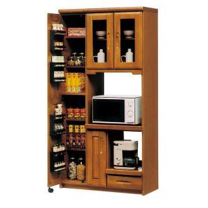 レンジ台 食器棚 完成品 幅90cm taiho-kagu
