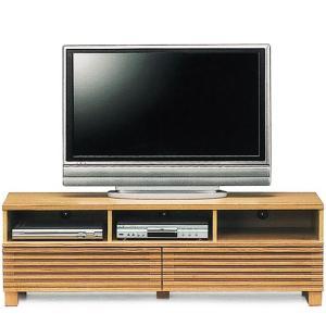テレビ台 ローボード 完成品 幅150cm タモ無垢 リビング収納 格子 木製 和モダン ロータイプ|taiho-kagu