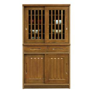食器棚 和風 完成品 幅90cm 高さ160cm taiho-kagu